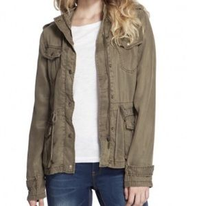 Max Jeans olive jacket